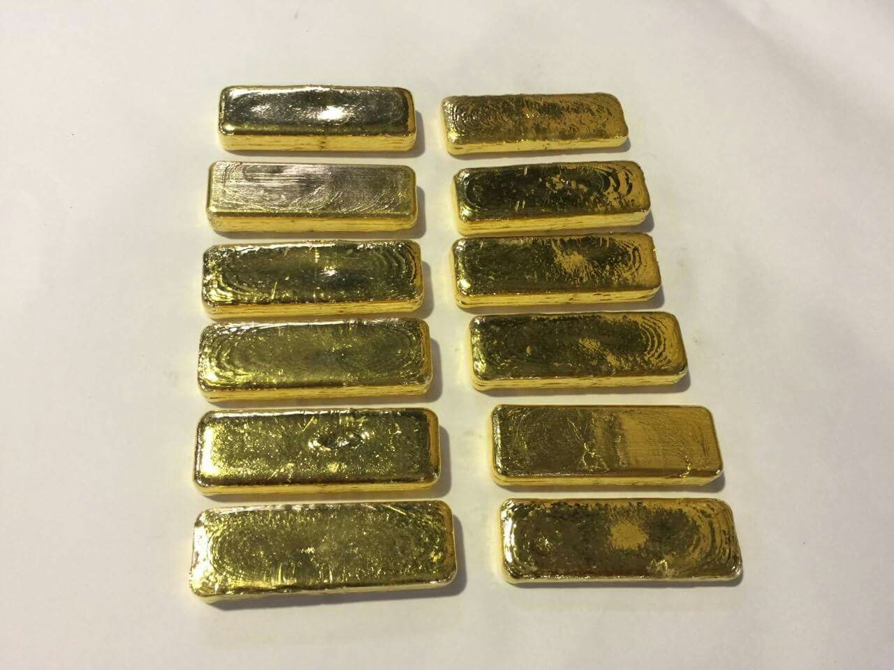 金回收精煉成品